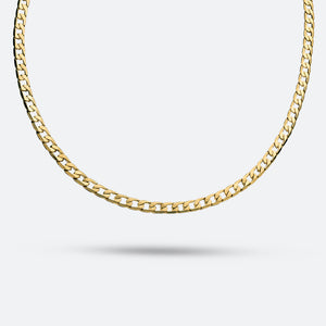 Cuban CURB Chain 4mm