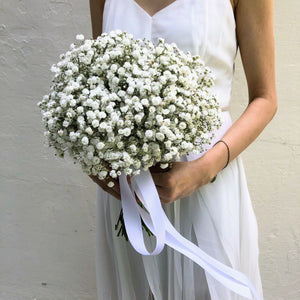 Baby Breath Bridal Bouquet