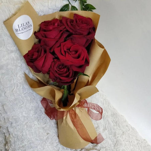 5 Stalk Rose Bouquet