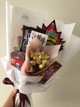 Load image into Gallery viewer, snack bouquet for your girlfriend