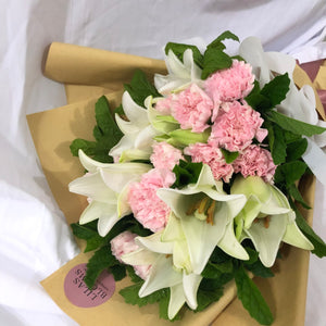 Lilies and Carnation Bouquet