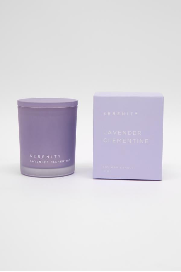 SERENITY - LAVENDER CLEMENTINE CANDLE