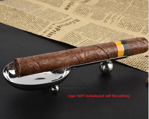1 piece smoking tobacco metal creative cigar ash tray