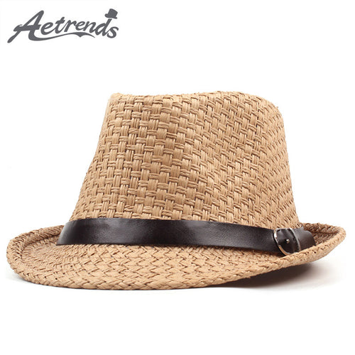 Summer Beach Panama Derby Bowler Hat