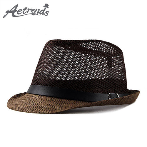 Jazz Cap Beach Straw Caps Fedora Hats