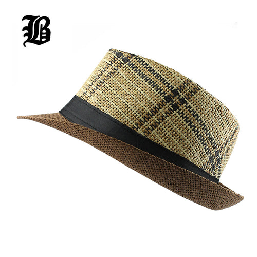 Panama Striped Hat