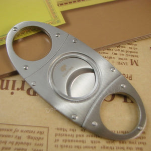 1pcs Guillotine Cigar Cutter Stainless Steel Tarnish Proof Knife Cigar scissors