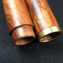 1pcs Rosewood Cigar Tube Storage Case Portable Wooden Humidor