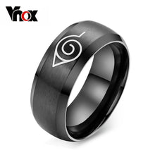 'Black Titanium Ring For Men