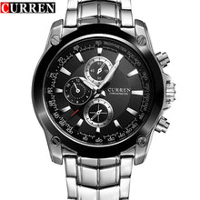 Luxury Brand Full Steel Business Quartz Watch