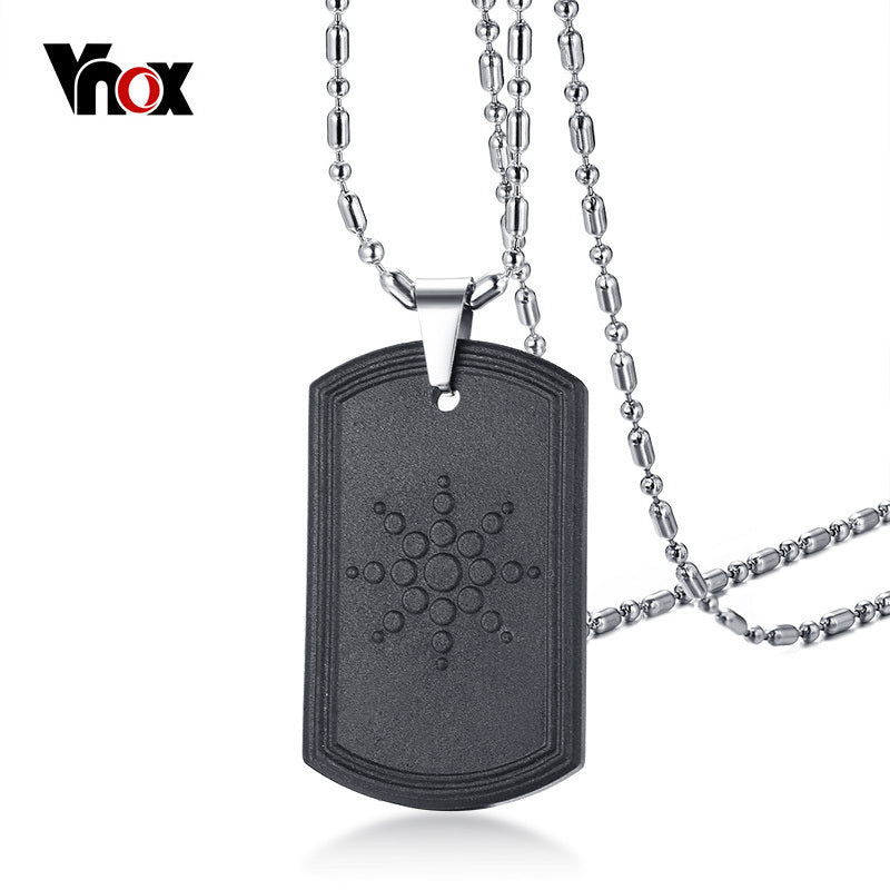 Scalar Quantum Energy Pendant Necklace