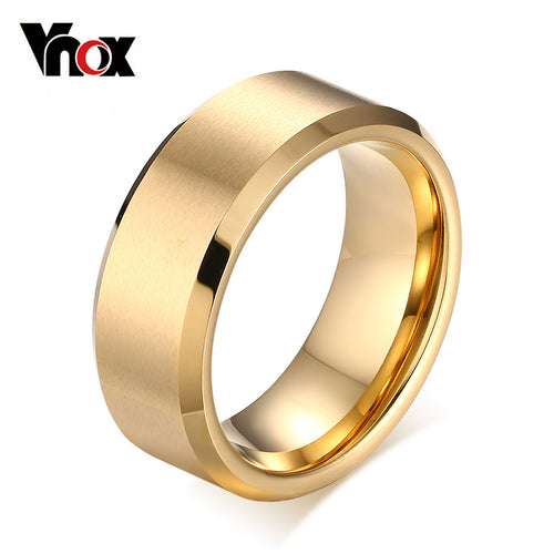 8.0mm Tungsten Ring for Men