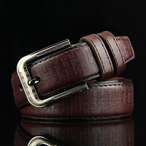 Casual Vintage Classic Genuine Leather Belt