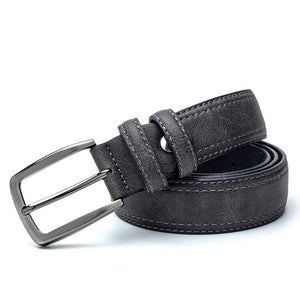 Luxury Vintage Split Leather Belt