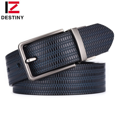 Woven Genuine Leather Designer Belt