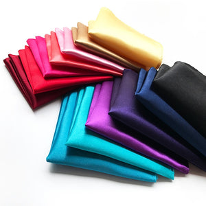 Silk Solid Color Hankerchief Pocket Square