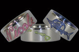 Engraved and Anodized Ring Designs From Hawaii Titanium Rings®