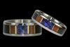 Australian Opal Titanium Ring - Hawaii Titanium Rings  - 2