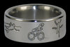 Triathlete Titanium Ring Band - Hawaii Titanium Rings