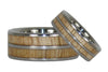 Mango Wood Titanium Rings - Hawaii Titanium Rings  - 4