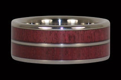 Purple Heart Titanium Ring - Hawaii Titanium Rings  - 1