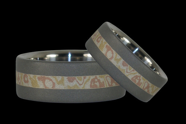 Mokumegane Wedding Bands