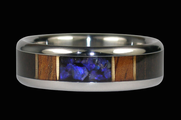 Australian Opal Hawaii Titanium Ring®