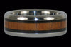 Koa and Blackwood Titanium Ring - Hawaii Titanium Rings  - 2