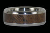 Walnut Titanium Ring Band - Hawaii Titanium Rings  - 3