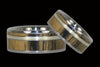 Exotic Wood and Gold Titanium Ring - Hawaii Titanium Rings  - 3