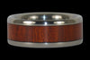 Bloodwood Titanium Ring Band - Hawaii Titanium Rings  - 1