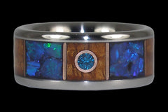 Solstice Titanium Ring - Hawaii Titanium Rings  - 1