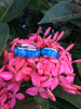 Blue Australian Opal Hawaii Titanium Ring®