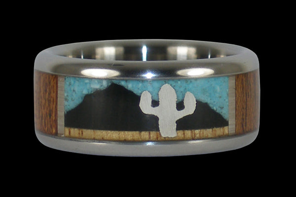 A Day in the Desert Hawaii Titanium Ring®