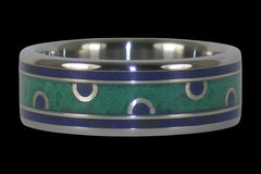 Custom Design Titanium Ring - Hawaii Titanium Rings
