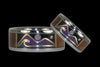 Oceanview Hawaii Titanium Rings with Diamond Star and Opal Moon - Hawaii Titanium Rings  - 1