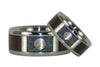 Yin and Yang Titanium Ring Bands - Hawaii Titanium Rings  - 2