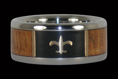 Saints Titanium Ring - Hawaii Titanium Rings  - 1