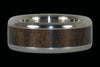 Walnut Titanium Ring Band - Hawaii Titanium Rings  - 4