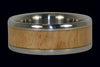 Eucalyptus Wood Titanium Ring Band - Hawaii Titanium Rings  - 1