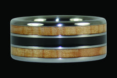 The Big Kahuna Titanium Ring - Hawaii Titanium Rings  - 1