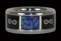 Infinity Titanium Ring Band - Hawaii Titanium Rings