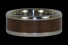 Ipe Wood Titanium Ring - Hawaii Titanium Rings  - 1