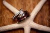 Koa Wood Titanium Ring - Hawaii Titanium Rings  - 3