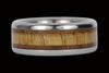 Mango and Koa Wood Titanium Rings - Hawaii Titanium Rings  - 3
