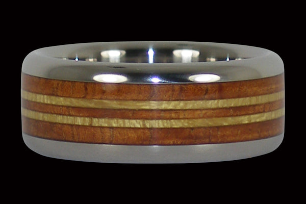 Surf Ring From Hawaii Titanium Rings®