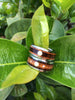 Diamond Titanium Rings with Tiger Wood - Hawaii Titanium Rings  - 6