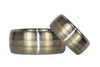 Mokumegane Titanium Ring Bands - Hawaii Titanium Rings  - 4