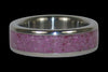 Pink Sugilite Ring - Hawaii Titanium Rings  - 1