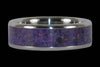 Purple Sugilite Ring - Hawaii Titanium Rings  - 1